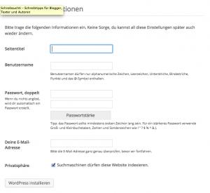 Blog schreiben einrichten starten bloggen selbst gehostet wordpress Tipps Anleitung tutorial