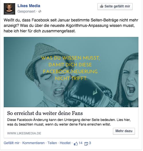 Facebook Tipps für Blogger
