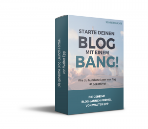 Die Blog Launch Formel