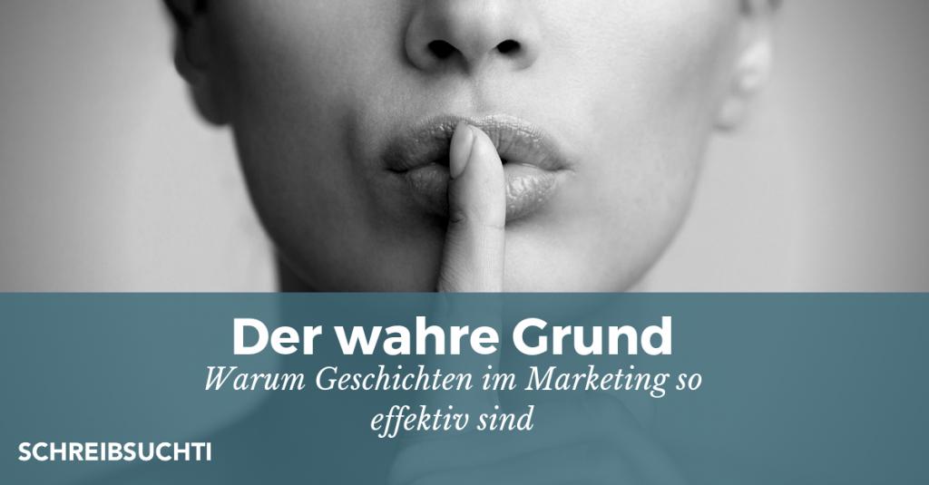 Warum Storytelling im Marketing so effektiv ist