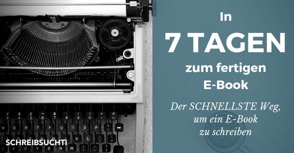 E-Book schreiben - Der schnellste Weg, um ein Ebook zu schreiben