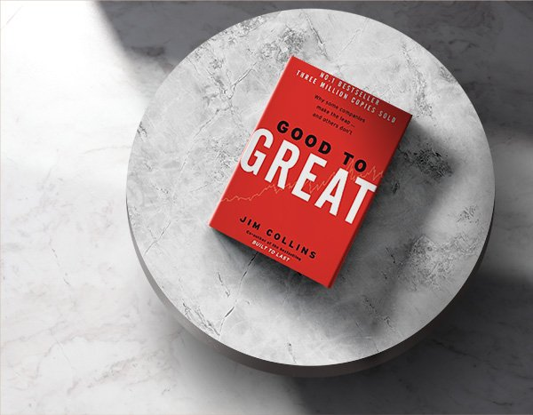 Good to Great – Eins der besten Business Bücher aller Zeiten