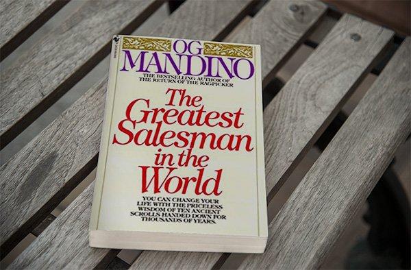 Og Mandino hat eins der besten Business Bücher aller Zeiten geschrieben.