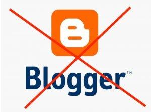 Du solltest deinen Blog nicht bei Blogger erstellen