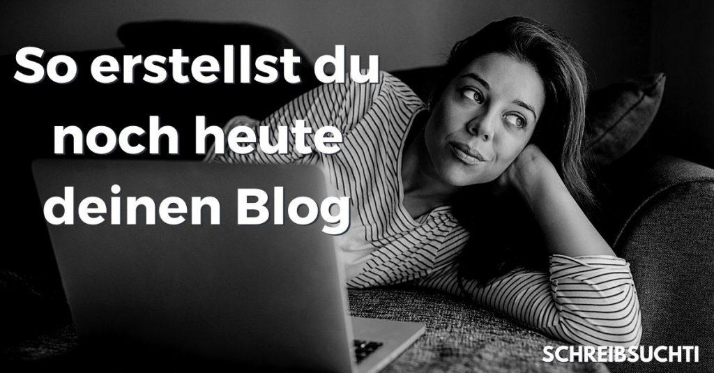 Blog erstellen, um Blogger zu werden