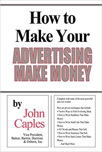 Werbetexter John Caples Buch