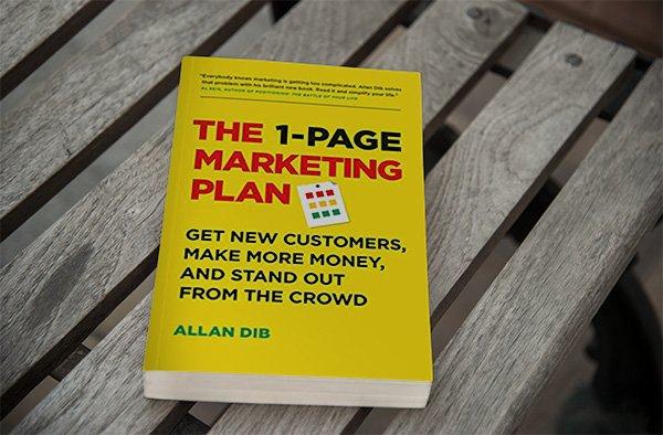 1 page marketing plan - eins der besten marketing bücher für Einsteiger